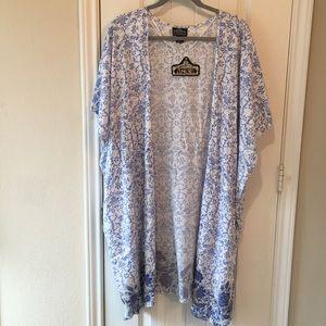 Angie kimono cover up